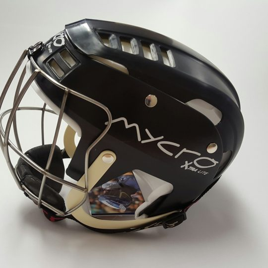 Mycro Hurling Helmet Black