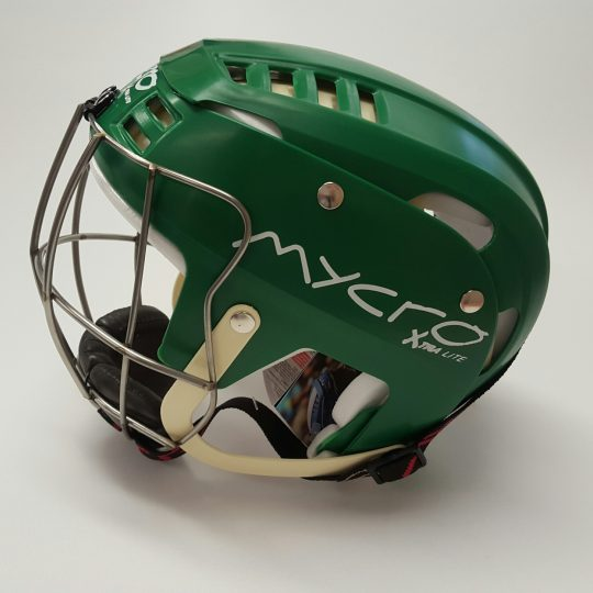 Mycro Hurling Helmet Green