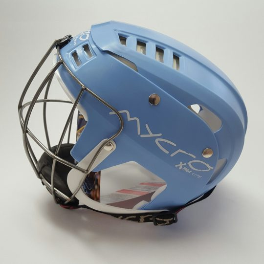 Mycro Hurling Helmet Light Blue