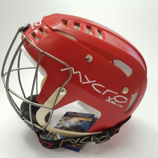 Mycro Hurling Helmet Red